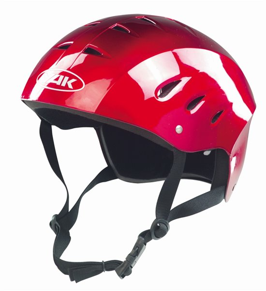 KONTOUR Helmet metallic red