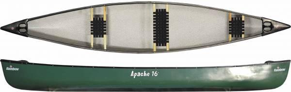 APACHE 16, 3 PE-Sitze, rot