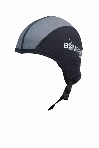 TITAN SKULL CAP MESH EAR schwarz/grau