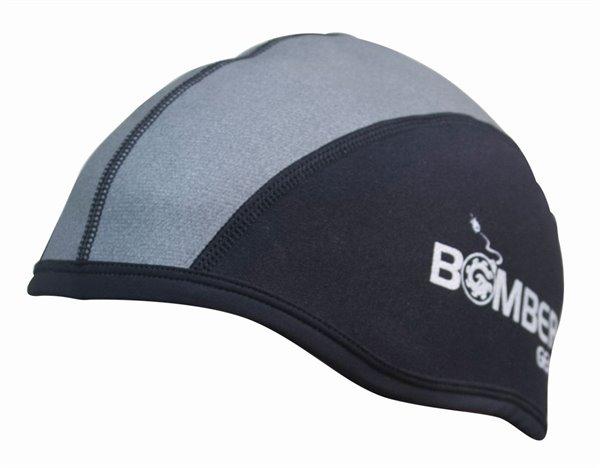 TITAN SKULL CAP NO EAR schwarz/grau