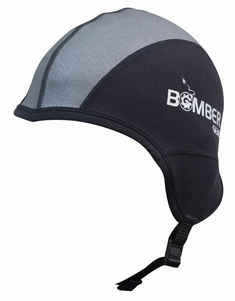 TITAN SKULL CAP FULL EAR schwarz/grau