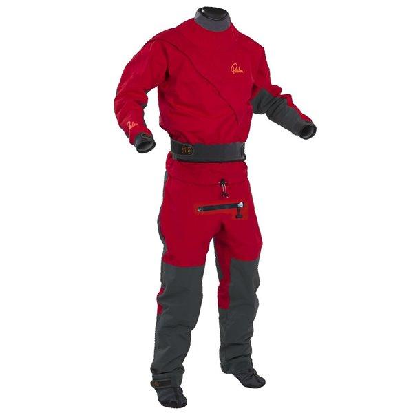 Cascade Trockenanzug in rot. Saisonabverkauf!